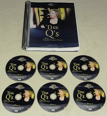 Darlene Nelson Powell Trading The QQQQ 6 DVD QQQ options stocks Better Trades
