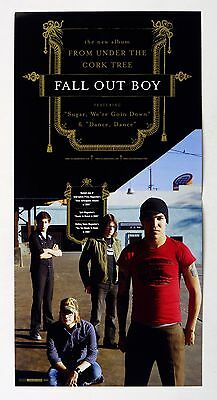 Fall Out Boy From Under the Cork Tree 2005 Album Promo 12x12 Poster Flat 4 sided