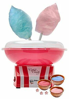 Cotton Candy Machine Maker Hard Candy Sugar Floss Homemade Sweets Carnival Party