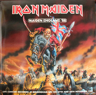 Iron Maiden - Maiden England '88 on Picture Disc Vinyl 2LP EMI 2013 NEW/SEALED