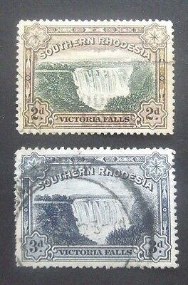Southern Rhodesia-1932-Victoria Falls set-Used