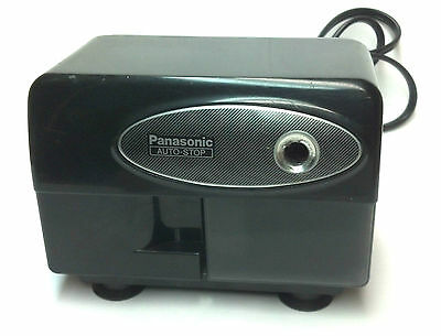 Panasonic Electric Pencil Sharpener with Auto-Stop Model KP-310 Matsushita Black