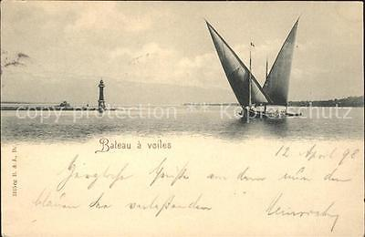 11651504 Geneve GE Bateau a voiles phare Geneve