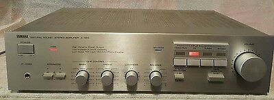 Vintage Yamaha Stereo Amplifier/phono/cd/aux/made In Japan