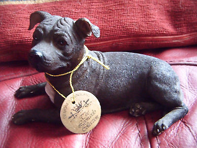 Lovely Staffordshire Bull Terrier ornament by The Leonardo Collection