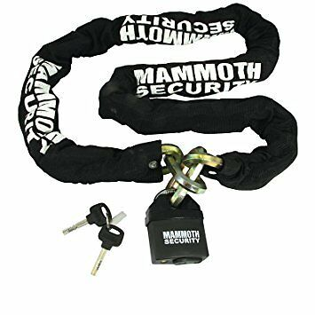 Mammoth Security Motorcycle Motorbike Scooter Chain Lock Super Heavy Duty 1.8M