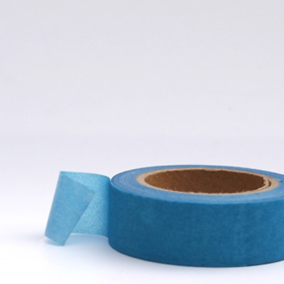 Washi Tape - Solid Neon Blue - 15mm x 10m