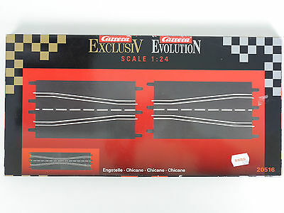 Carrera 20516 Engstelle Chicane Exclusiv Evolution 1:24 TOP OVP 1602-05-109