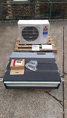 Mitsubishi Air Conditioning Ducted Heat Pump 3.5Kw Complete NEW Bedroom / Office