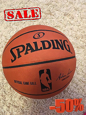 SPALDING NBA Official Game Ball / Adam Silver / Commissioner / NEW