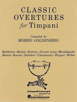 Classic Overtures for Timpani Percussion NEW 000347780