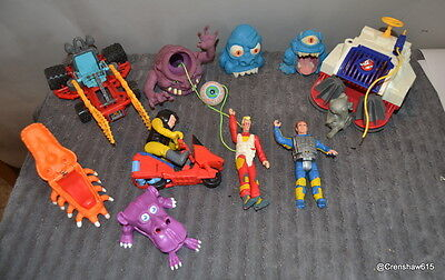 Kenner The Real Ghostbusters action figure set
