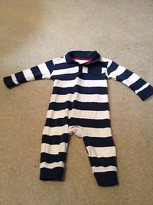 Baby boys all in one romper size 6-9 months