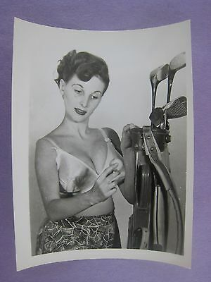 Orig. 1950S Pinup Photo..5 X 4 ...nice !...# Bb-12..nude,risque..
