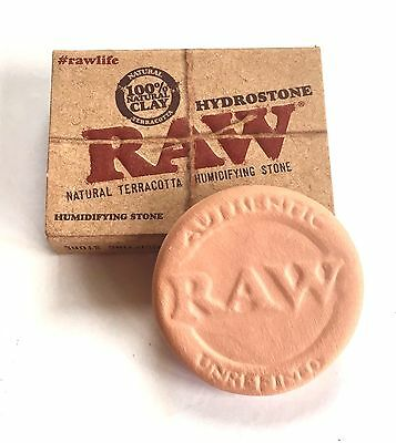 1 X RAW Rolling Hydrostone Natural Terracotta Humidifying Stone for Tobacco
