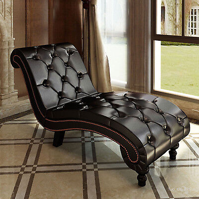 Chaise Longue Window Seat Lounge Sofa Bedroom Lounger Bench Elegant Luxury Style