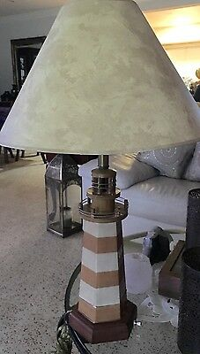Disney's Vacation Club Lighthouse Lamp Cast Member Hotel Exclusive Prop