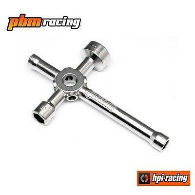 HPI Racing RC Glow Plug Spanner Multi Wrench All Nitro RC Cars - 87546