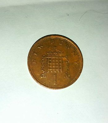 1976 new pence 1p coin RARE
