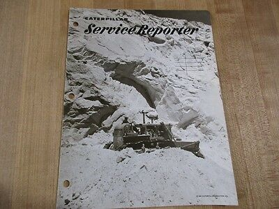 1965 Caterpillar Tractor Co Service Reporter Issue Four