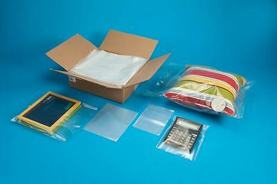 "LAY FLAT PLASTIC BAGS 1 MIL 3""x 10"" to 18""x 24"" CLEAR PLASTIC BAGS OPEN TOP"