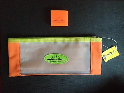 Millennium Experience Dome 2000 pencil case and Eraser new