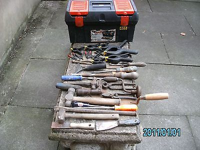 Zag Tool Box And 33 Asorted Tools