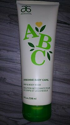 Arbonne Baby Care Hair and Body Wash 8oz New