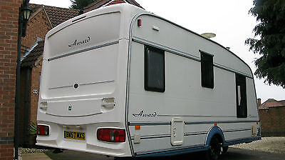 Abi Award Brightstar 2 berth Caravan 1998 with Motor Mover and accessories