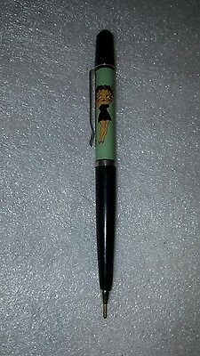 Vintage Betty Boop pen with floating bikini mechanism.