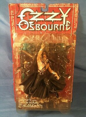 Ozzy Osbourne Action Figure/With Diorama And Bats 1999 McFarlane Toys In Box