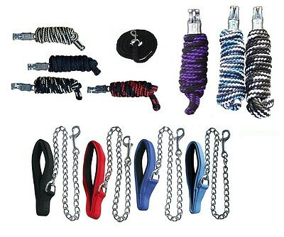 Lead rope Panic snap Tether rope Knitted Training lead Carbine or Lead chain