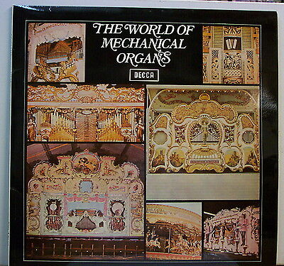 "SPA 115 ""World of mechanical organs"" DECCA vinyl LP N/Mint"