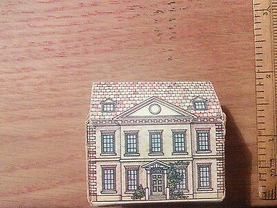 Vintage dolls house little card dolls house 1980's VGC 1/16th 1/12th scale