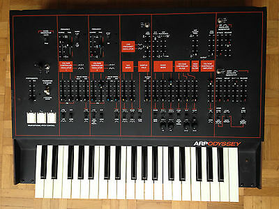 vintage ARP ODYSSEY +  sainteric modifications -  the true synth legend !