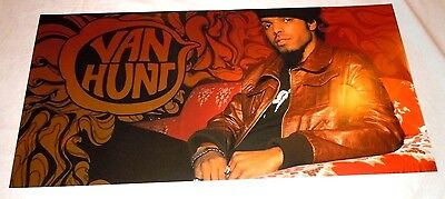 VAN HUNT~Promo Poster Flat~Double Sided~12x24~NM~2004