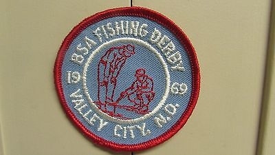 Boy Scouts of America Fishing Derby Valley City N.D. 1969