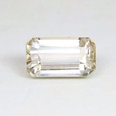 TOP HIDDENITE : 16,32 Ct Natürlicher Gelber Hiddenit ( Yellow Kunzite )