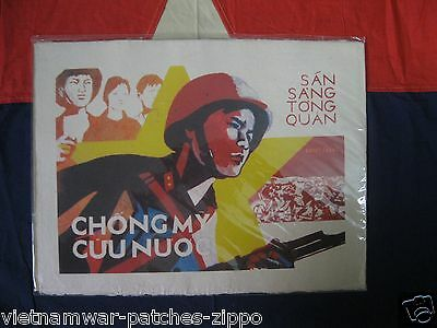 The propaganda posters   THE VIETNA , great