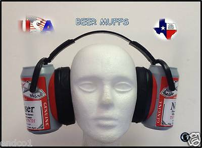 Hearing Protection Ear Muffs Safety PPE Adults Beer