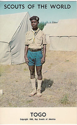 Scouts of the World Postcard: Togo