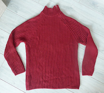 """Pull Homme - Taille L - Marque BRICE - Couleur """"ROUGE"""""""