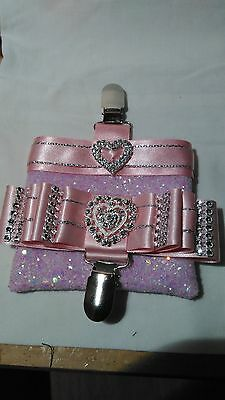 Dog show armband ring clip number & Treat bag CRUFTS