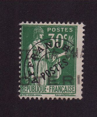 Timbre France Preo N°69 30 C Paix