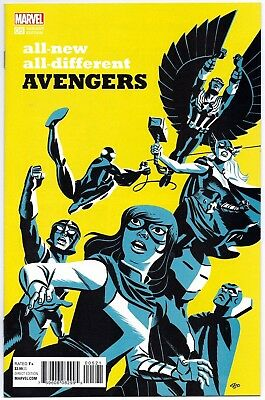 All-New All-Different Avengers #3 1:20 Cho Variant First Print Marvel Comics Nm