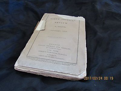 Antique-The North American Review-January 1858-1800s-1850s-Prison Reformatories