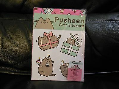 Pusheen Winter 2016 Subscription Box Exclusive - Gift Stickers and Gift Wrap