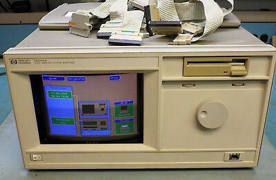 Hp Agilent 16500A Logic Analyzer System 16550A 16510B With System Disks