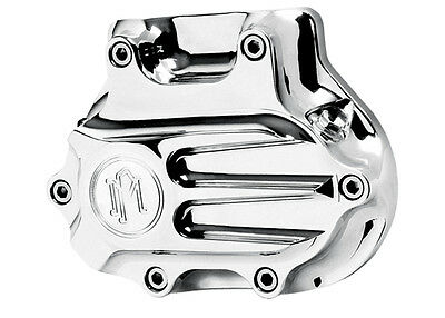 PM Chrome Fluted Cable Clutch Cover Harley Davidson Dyna 2006-2015