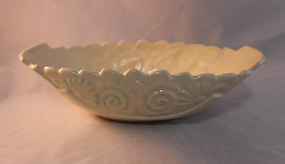 Weller Candis Small Console Bowl in Ivory